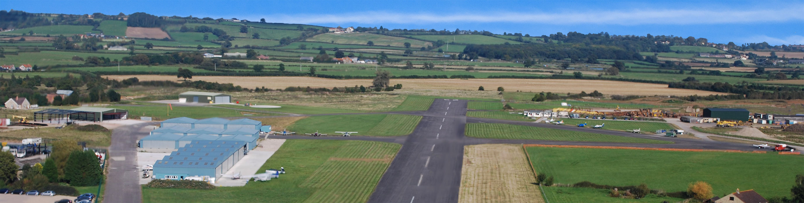 Henstridge Airfield Somerset - friendly general aviation airfield near Wincanton, Somerset.