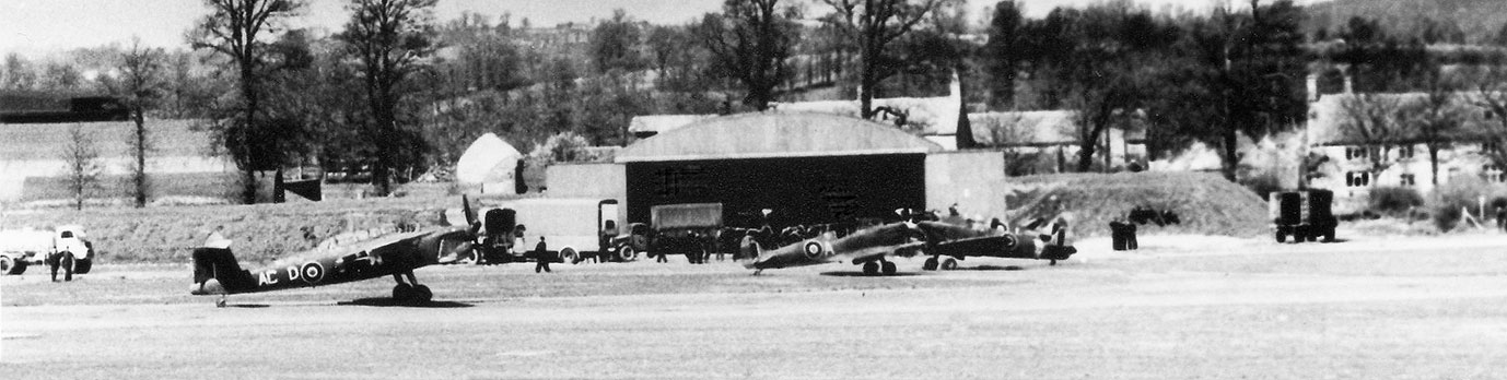 Henstridge Airfield circa 1944